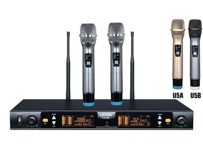 LS-Q2 Dual Channel Digital Audio Wireless Microphone