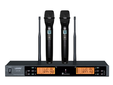 LS-Q5 Dual Channel Wireless Microphone