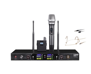 LS-Q3 Dual Channel Wireless Microphone